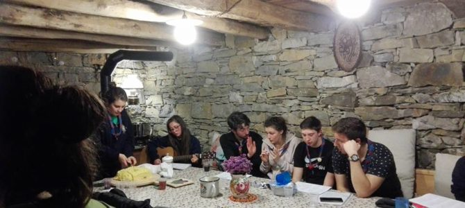 Gita alla grotta Doviza con il Gruppo Scout di Artegna