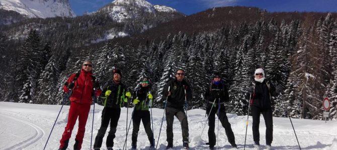 Uscita in Val Saisera